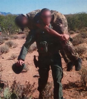 This is a rescue from April.  (Source: U.S. Customs and Border Protection)