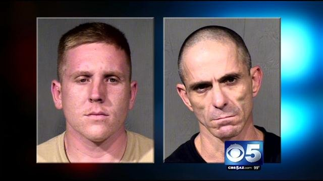 Brandon Mitchell (left), Roger Burton (Source: Maricopa County Sheriff's Office)