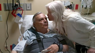 Sheriff Joe Arpaio with wife, Ava. (Source: Twitter@Real SheriffJoe)