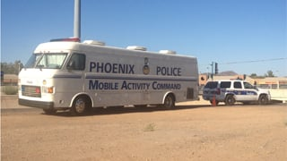 Phoenix police and the medical examiner's office are investigating. (Source: Rebecca Thomas, cbs5az.com)
