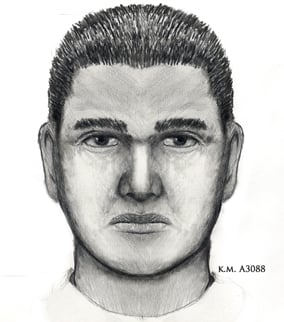 Composite sketch of man sought in kidnapping, rape case. (Source: Silent Witness)