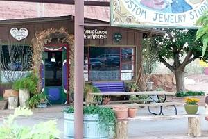 Picture taken at Marble Canyon Lodge. (Source: Gwen Sick)