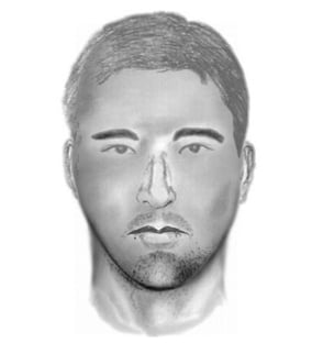 Composite sketch of suspect. (Source: Glendale Police Department)