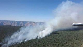The Halfway Fire is burning north of the Ten X Ranch and five miles due east of Tusayan. (Source: U.S. Forest Service)
