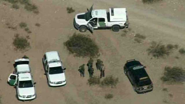 The bodies of at least four people were found in the desert near Gila Bend. (Source: CBS 5 News)