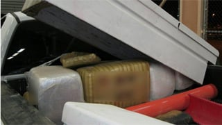 Officers found 933 pounds of pot stashed inside. (Source: U.S. Customs and Border Protection)