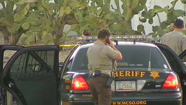 Maricopa County sheriff's deputies were looking for a home invasion suspect in Sun City on Friday morning. (Source: CBS 5 News)
