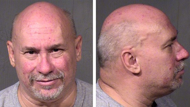 William James Hartwell faces possible charges of running a house of prostitution after Phoenix police raided his business Thursday. (Source: Maricopa County Sheriff's Office)