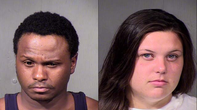 Marquel Watson, 27, and Kiana Clark, 18 (Source: Maricopa County Sheriff's Office)