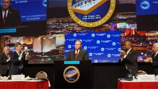 Mesa Mayor Scott Smith sworn in as 71st president of the U.S. Conference of Mayors. (Source: City of Mesa)