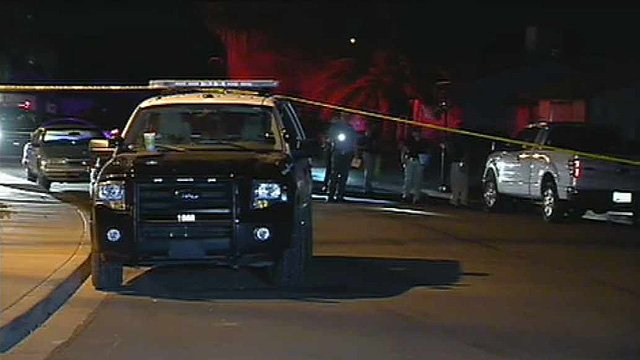 Two men were stabbed and another beaten when they got into a fight that was possibly romantically motivated. (Source: CBS 5 News)