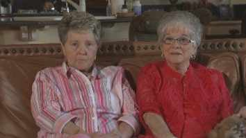 Karen Bailey and Nelda Majors (Source: CBS 5 News)