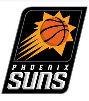 The Suns' primary logo. (Source: Phoenix Suns)