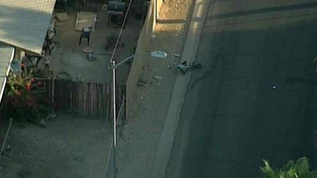 A man was shot and killed while riding a bicycle in Phoenix early Thursday morning. (Source: CBS 5 News)