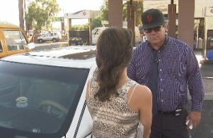 Thomas Simon is owner of Scottsdale Cab Guy. (Source: CBS 5 News)