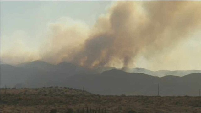 Crown King Fire, 2012. (Source: CBS 5 News)