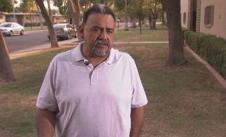 Rick Salinas, Adrienne's father