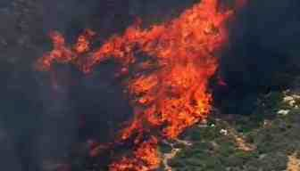 Yarnell Hill Fire picked up momentum Sunday. (Source: CBS 5 News)