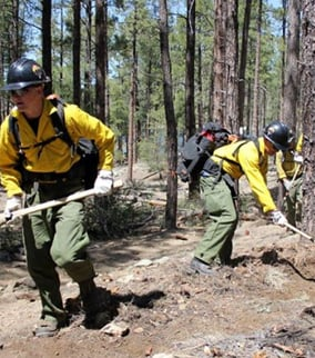 Members of the Granite Mountain Hot Shots shared a common bond of hard work and arduous adventure. (Source: Connor Radnovich)