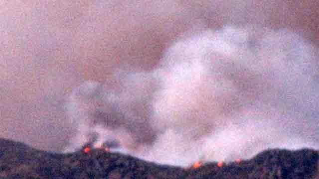 Yarnell Hill Fire in central Arizona