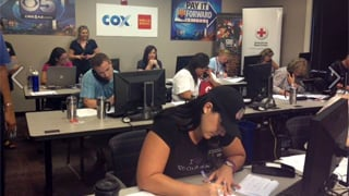 Monday night's CBS 5 Pay It Forward phone bank. (Source: CBS 5 News)