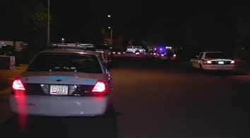 The stabbing happened near 67th Avenue and Olive. (Source: CBS 5 News)