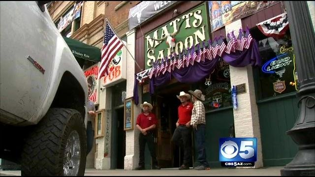 Matt's Saloon (Source: CBS 5 News)