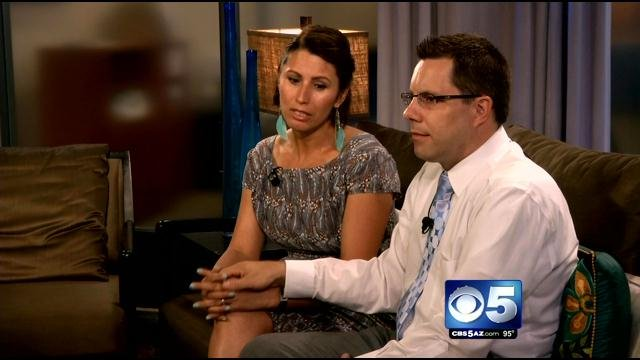 Gary and Yanira Maldonado (Source: CBS 5 News)