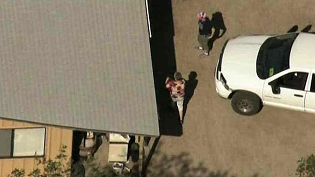 Some Yarnell residents were able to return to the homes Monday morning. (Source: CBS 5 News)