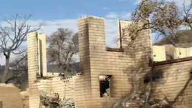 At least 114 homes and structures were lost in the Yarnell Hill Fire. (Source: CBS 5 News)