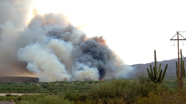 """Shipman Fire"" near Kearny. (Source:  James Ruiz)"