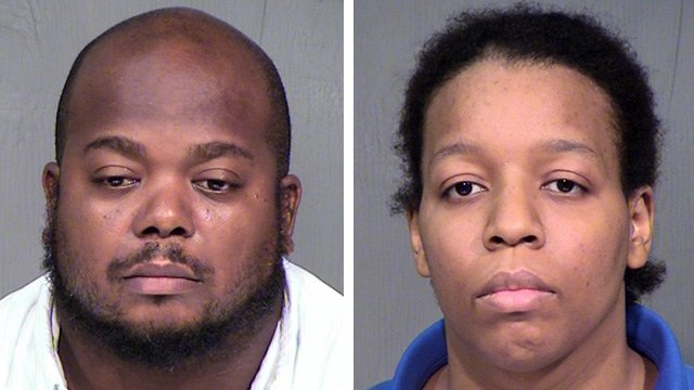 Ernest, left, and Denise Ingram pleaded not guilty again on Thursday. (Source: Maricopa County Sheriff's Office)