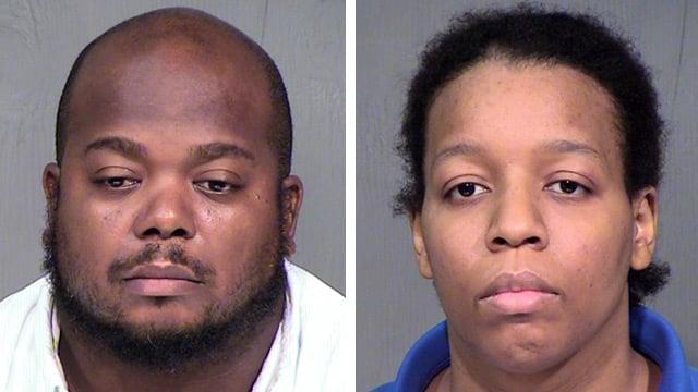 Ernest, left, and Denise Ingram pleaded not guilty again on Thursday. (Source: Maricopa County Sheriff's Office)
