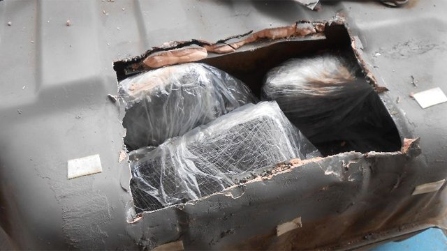 Meth seized at AZ border. (Source: U.S. Customs and Border Protection)