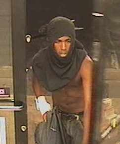 Wanted suspect entering Circle K on Cave Creek Road. (Source: Silent Witness)