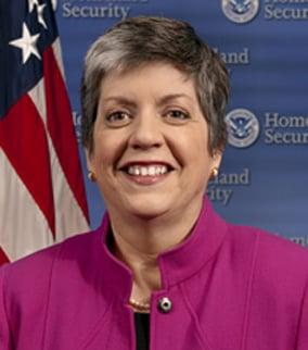 Janet Napolitano (Source: Homeland Security)