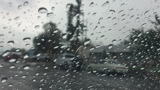 Storms were back in the forecast Monday. (Source: Christina Batson, cbs5az.com)