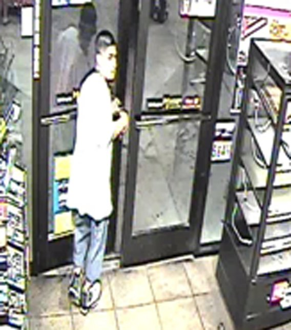 Surveillance image of suspect. (Source: Phoenix Police Department)