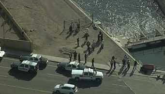 Body found in canal in Mesa. (Source: CBS 5 News)