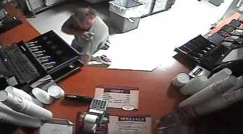 The robbery occurred at Venezia's Pizzeria. (Source: Mesa Police Department)