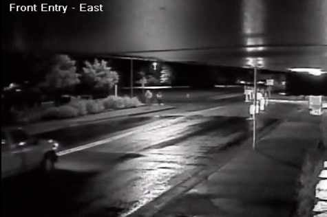 This video, obtained by a local business, shows the suspect walking with the victim in the July 21 case. (Source: Flagstaff Police Department)