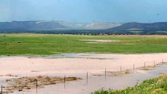 Paulden area flooding. (Source: Mary Atonna)