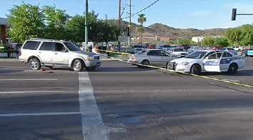 The incident happened at the intersection of 48th and Baseline. (Source: CBS 5 News)