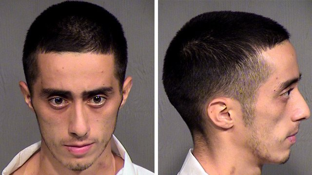 Moises Gutierrez, 22, is accused in the fatal shooting of a man at a Tempe intersection on Tuesday. (Source: CBS 5 News)
