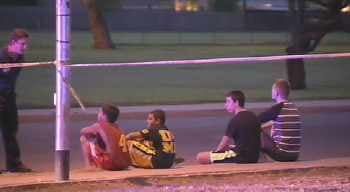 The boy in Glendale had been riding his bike with other children. (Source: CBS 5 News)