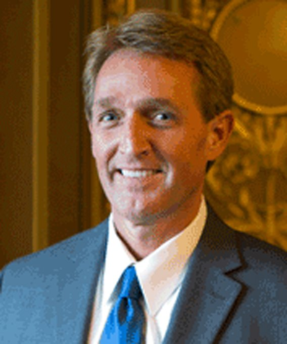 "Sen. Jeff Flake (R-AZ) (Source: ""The Hill"")"