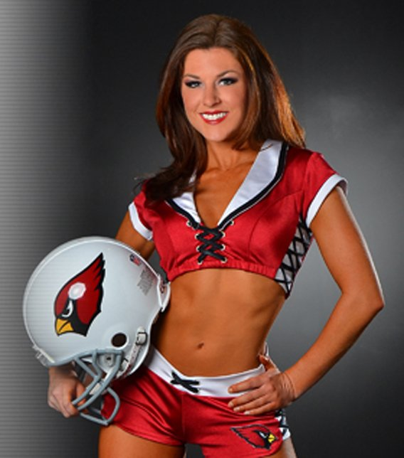 She transitioned to Cardinals cheerleader. (Source: Arizona Cardinals