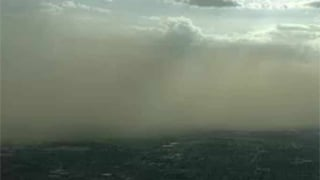Wall of dust blankets parts of Phoenix area (Source: CBS 5 News)