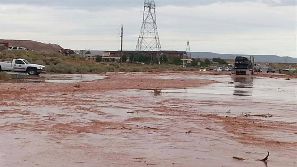 Adot Flooding Closes Access To Page on Weather Page Az 10 Day Forecast