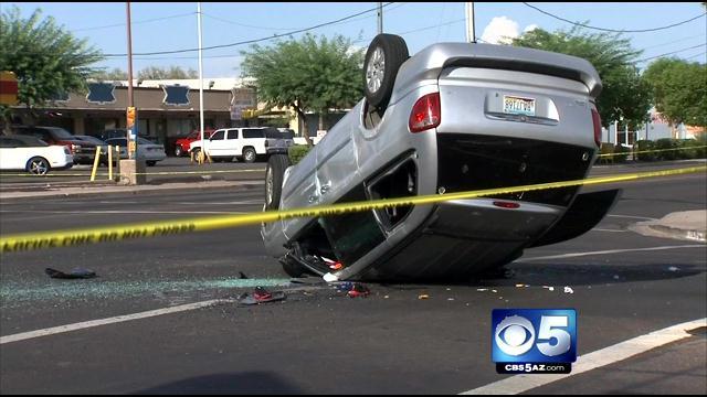 Mom and her 4 kids were injured. (Source: CBS 5 News)